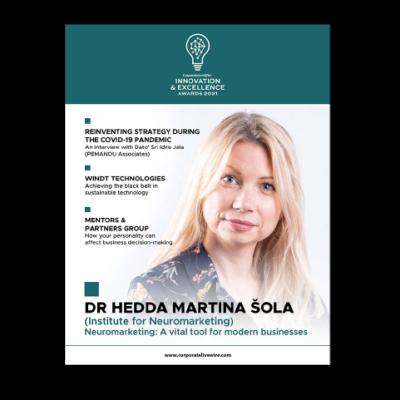 Institut za neuromarketing - Hedda Martina Šola - Inovation of excellence 2021 Interview